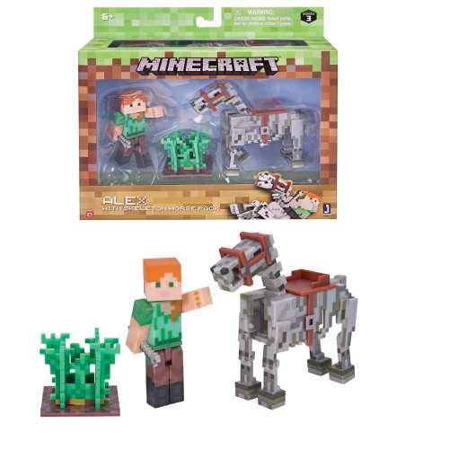"Набор ""Алекс с скелетом лошади"" Майнкрафт (Minecraft)"