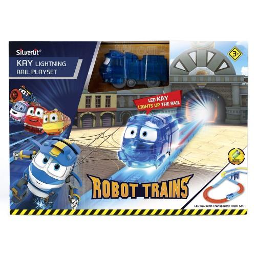 """Набор """"Железная дорога"""" Robot Trains"""