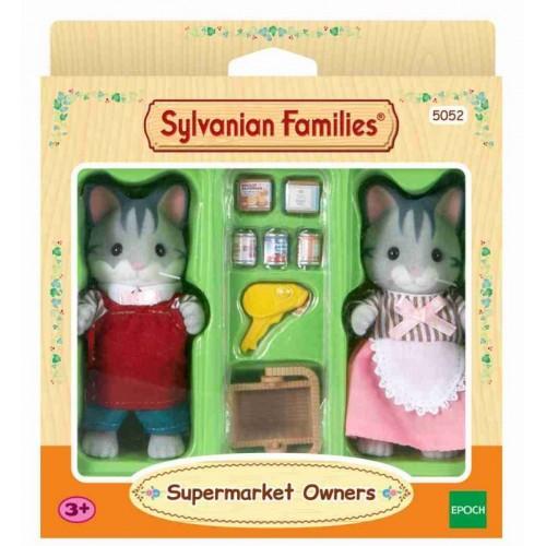 """Набор """"Владельцы супермаркета"""" Sylvanian families"""
