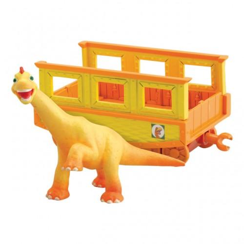 """Нэд 6см с вагончиком """"Поезд Динозавров"""""""