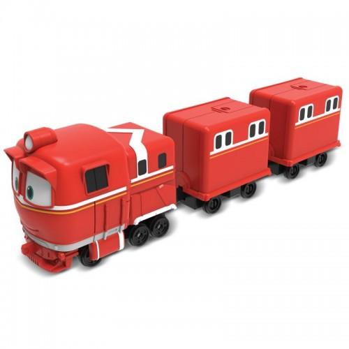 Паровозик с двумя вагонами Альф Robot Trains