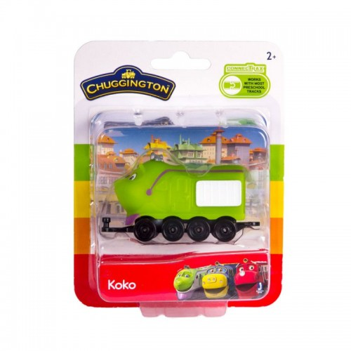Паровозик в блистере Коко Chuggington