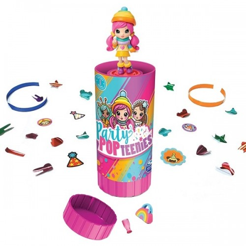 Party Popteenies хлопушка с сюрпризом (1 кукла) Spin Master