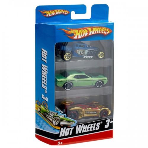 Подарочный набор из 3х машинок Hot Wheels