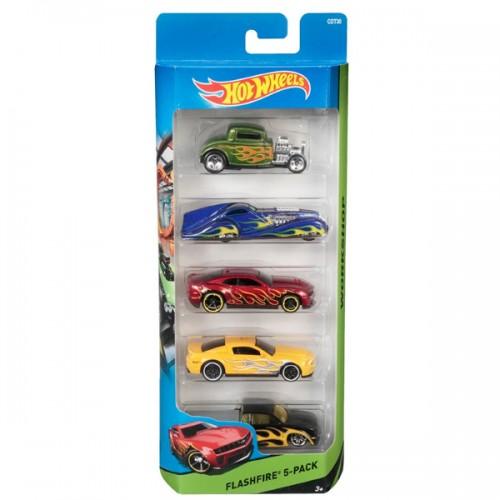 Подарочный набор из пяти машинок Hot Wheels