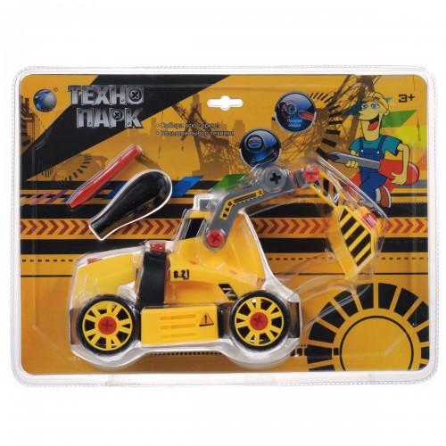 Развивающий конструктор Технопарк Трактор с ковшом Tongde