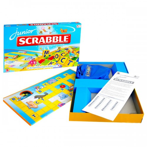 Scrabble Скраббл Джуниор