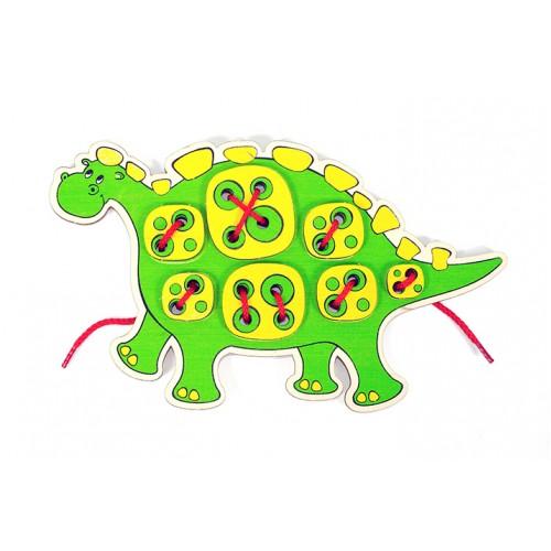 Шнурозаврик-1 WOODY