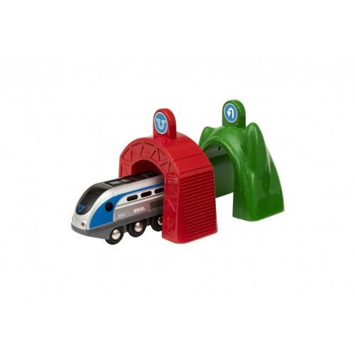 Smart Tech Набор электропоезд и туннели (поезд и 2 туннеля) BRIO
