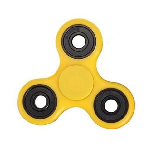 Спиннер-антистресс 7 см желтый Gyro
