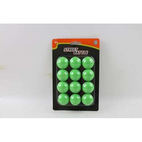 Street Battle Мягкие шарики 3,4 см для игр оружия (12 шт.) 1TOY