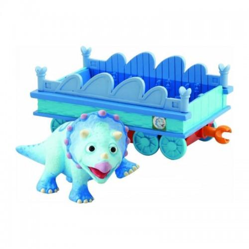 """Тэнк 6см с вагончиком """"Поезд Динозавров"""""""
