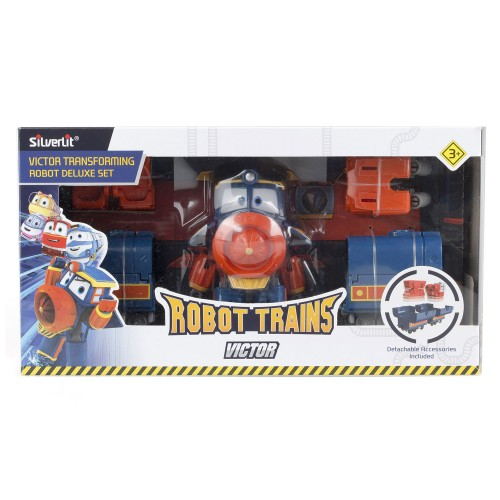 Трансформер Виктор (делюкс) Robot Trains