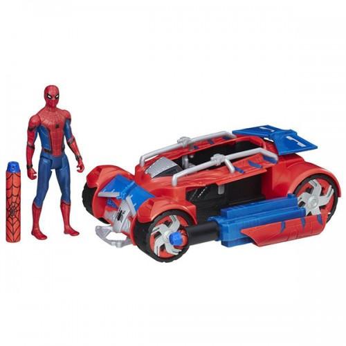 Транспортное средство паутинный город 15 см Hasbro