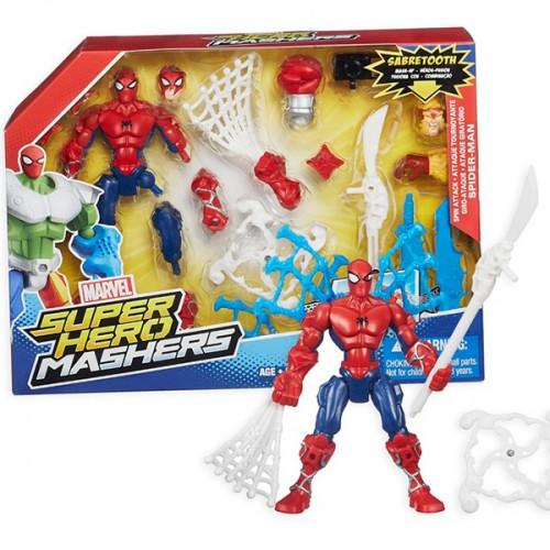 Улучшенные разборные фигурки Марвел Heromashers Hasbro