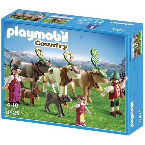 В горах: Альпийский фестиваль Playmobil