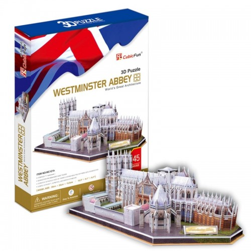 3D пазл Вестминстерское аббатство (Великобритания) CubicFun