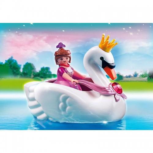 Замок кристалла: Принцесса на лодке-лебеде Playmobil (Плеймобил)