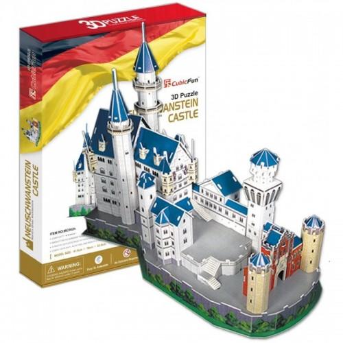 3D пазл Замок Нойшванштайн (Германия) CubicFun