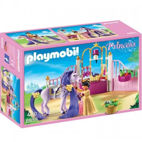 Замок Принцессы: Королевская конюшня Playmobil (Плеймобил)