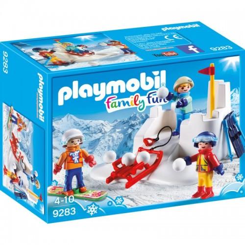 Зимние виды спорта: Снежки Playmobil (Плеймобил)