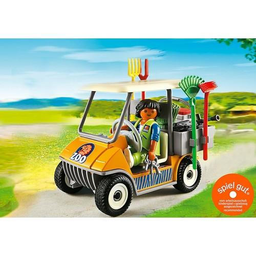 Зоопарк: Автомобиль Playmobil (Плеймобил)