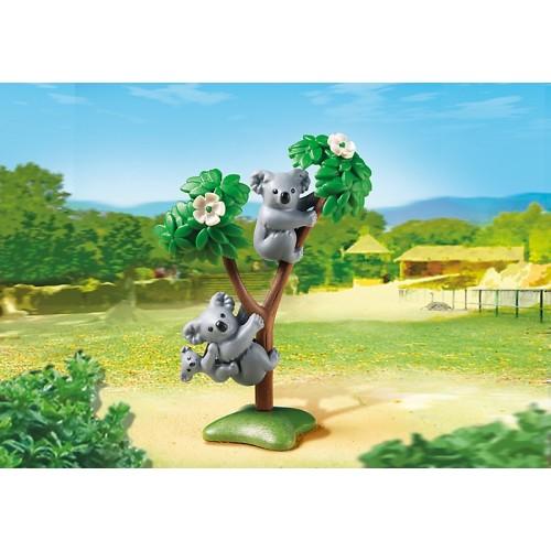 Зоопарк: Семья Коал Playmobil (Плеймобил)