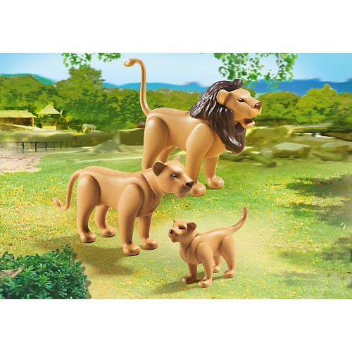 Зоопарк: Семья Львов Playmobil (Плеймобил)