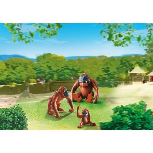 Зоопарк: Семья Орангутангов Playmobil (Плеймобил)