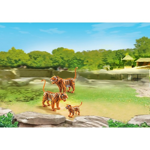 Зоопарк: Семья Тигров Playmobil (Плеймобил)