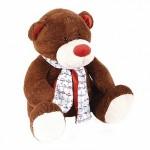 Медвежонок Тимоша. коричневый 43 см