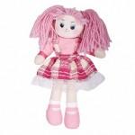 Кукла Клубничка в клетчатом платье, 30см