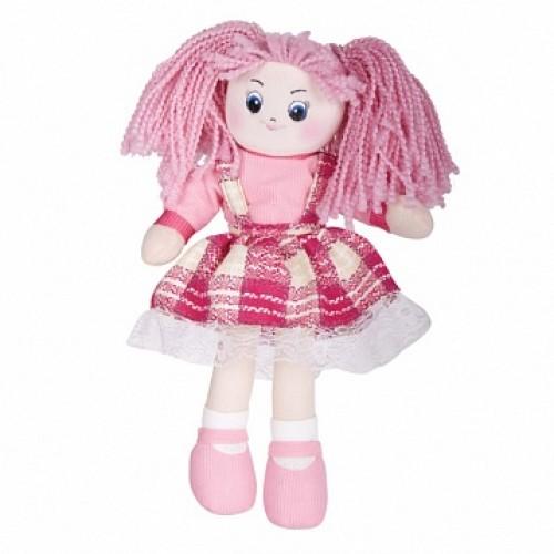 Кукла Клубничка в клетчатом платье, 30см Gulliver 30-11BAC3505