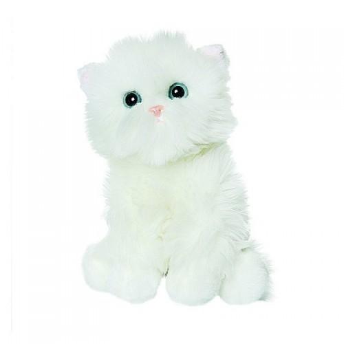 Белый котик пушистик, 23 см Gulliver 50-85013W