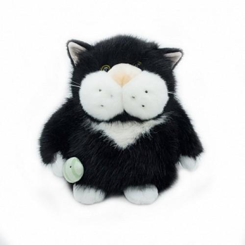 Кот Чернуля с рыбкой, 24см. Gulliver 51-K41082A