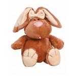Кролик КОРИЧНЕВЫЙ сидячий, 40см