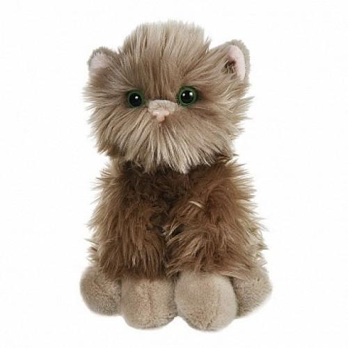 Серый котик пушистик, 23 см Gulliver 50-85013G