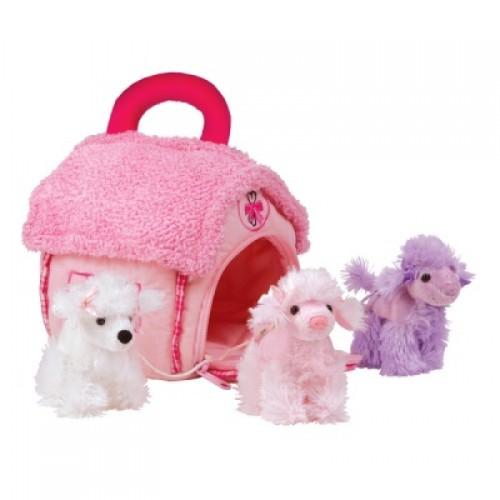 Домик-сумка с 3-мя пуделями Gulliver 21-912091