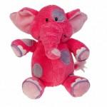 Слоник розовый, 22см