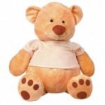 Медведь МИША в майке сидячий, 40 см