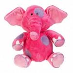 Слоник розовый, 36см