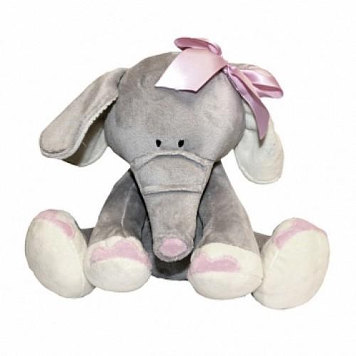 Слоник с розовым бантиком, 25 см Gulliver 26-1028-15
