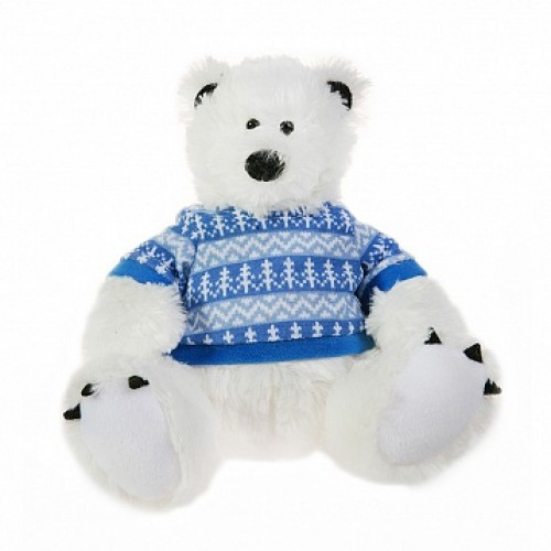 Мишка полярник. 19 см Button Blue 42-120375-1