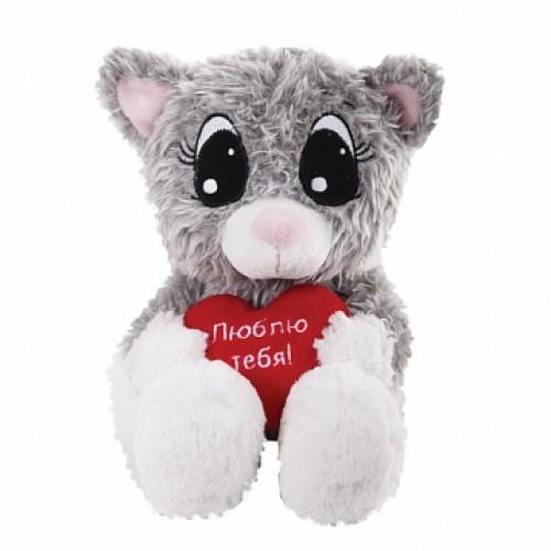 Котик Влюбленный, 20 см Gulliver 7-52992