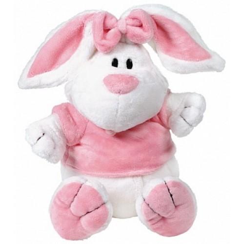 Кролик БЕЛЫЙ сидячий, 23см Gulliver 7-42227