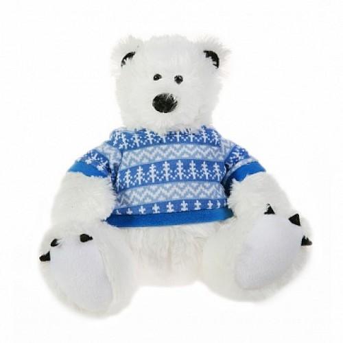 Мишка полярник. 25 см Button Blue 42-120375-2