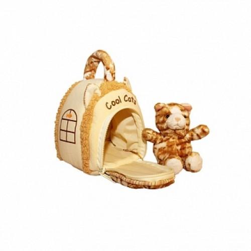 Домик-сумка с котиком, 15 см Gulliver 21-912050-2