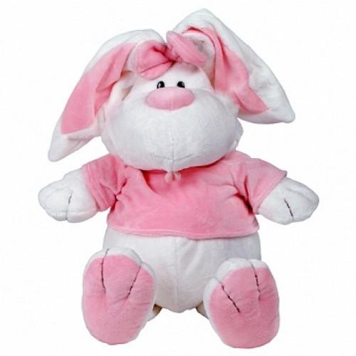 Кролик БЕЛЫЙ сидячий, 40 см Gulliver 7-42229