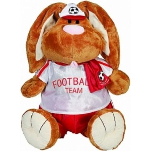 Кролик Коричневый Футболист сидячий 56 см Gulliver 7-54591