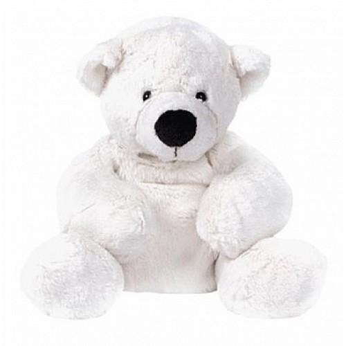 Медведь белый, лежачий 17'(43см) Gulliver 7-43061-1